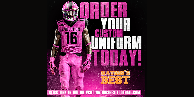 Nation\'s Football Uniforms